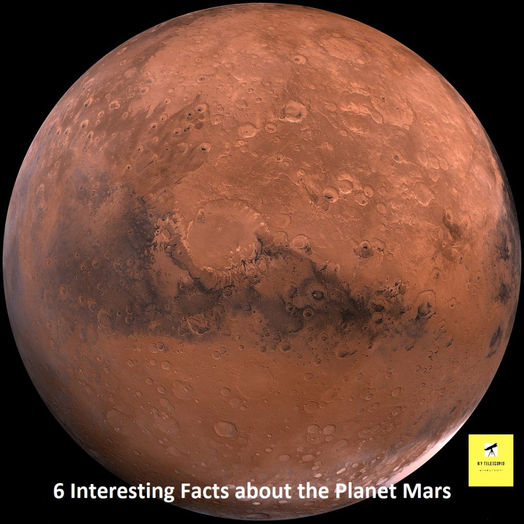 Interesting Facts about the Planet Mars