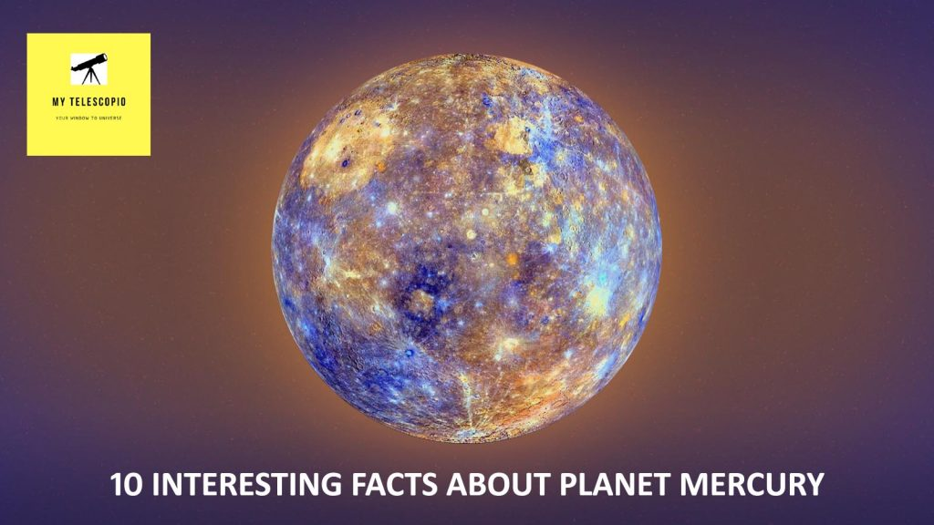 Interesting facts about planet Mercury